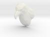 Faceted Eagle Hook 3d printed