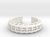 Eutheria Bracelet / Cuff 3d printed