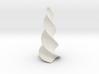 Curved Obelisk 3d printed