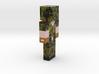 6cm | locsnake 3d printed