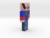 6cm   Minecraft_Mestre 3d printed