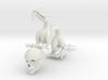 "6"" Chinese Dragon Human Skull Pose1 3d printed"