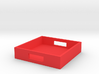 Square Tray Small 1:12 scale 3d printed