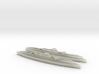 I-400 Class Submarine (1:1800) x2 3d printed