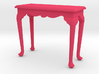 1:24 Fancy Queen Anne Console Table, Medium 3d printed