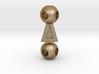 RigIt - MaleToMale Bone Pendant 3d printed