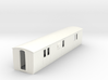 OO9 modern  brake luggage van 3d printed