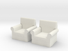 1:48 Modern Armchairs 3d printed