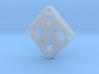 Elegant Earrings - Eight Petal Floating 3d printed