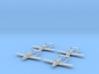 1/285 Fokker D.XXIII (x4) 3d printed