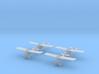 1/300 Sopwith Swallow (x4) 3d printed