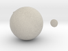 5cm Color Mars Surface Globe 3d printed