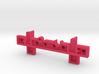 Lego Rail improved 3d printed