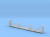 Bulkhead Flatcar - Nscale 3d printed