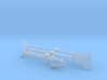 Monk Weapons 3d printed