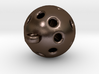 Hole Sphere Pendant 3d printed