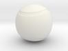 Tennis Ball Hollow 3d printed