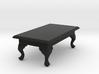 1:24 Queen Anne Coffee Table, Rectangular 3d printed
