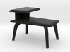 1:24 Moderne Wedge Side Table 3d printed