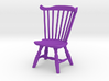 1:24 Fan Back Windsor Chair 3d printed