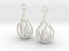 Ducks - Earrings 3d printed