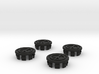 4 X Toyota Prius G2 Wheel Center Cap - Peace 3d printed