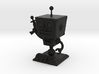 Cafe 51 - Sci-Fi Robot with Game Logo Base 3d printed