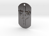 Spirit Of The Deer Dog Tag 3d printed