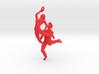 Dance LOVE Pendant-Earring 3d printed Salsa necklace