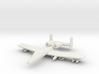 1/285 Scale (6mm) A-10 Warthog  3d printed