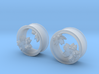 Cherry Blossom 1 Inch Tunnels 3d printed