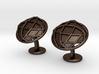OctagonoCufflinks 3d printed