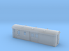 30ft Guards Van, New Zealand, (HO Scale, 1:87) 3d printed