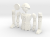 "Twiki from Buck Rogers - Mego like (fits with 8"" f 3d printed"