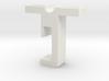 Slidetracked-rail-slider 3d printed