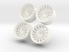 1/10 Touring Car Vossen VFS2 Wheel Set  3d printed