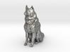 Dog Figurine - Sitting Finnish Spitz 1:43,5 scale  3d printed
