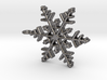 Schneeflocke  mit Öse 3d printed