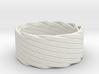 Single Stranded Matthew Walker Knot Napkin Ring 3d printed