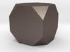 truncated cube 3d printed