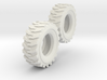 1:64 scale 12-16.5 Skid Steer Tires 3d printed