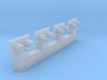 HO Adaptors for Bowser trucks 3d printed
