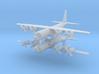 1/600 C-130H Hercules (x2) 3d printed