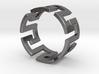 Meander Ring x6 3d printed