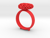 365 Hearts Napkin Ring 3d printed