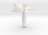 Flat Cat, Jack Protector Audio 3d printed
