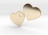 LOVE 3D Hearts 80mm 3d printed