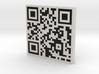 QRCode -- Belongs To: Pedro Vidal 3d printed