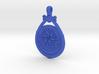 Eridu Teardrop Pendant - large with side loop 3d printed