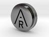 Aravinda Rodenburg Lapel Pin 3d printed